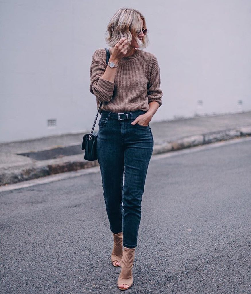 How To Make Knitted Sweater Look Trendy 2019