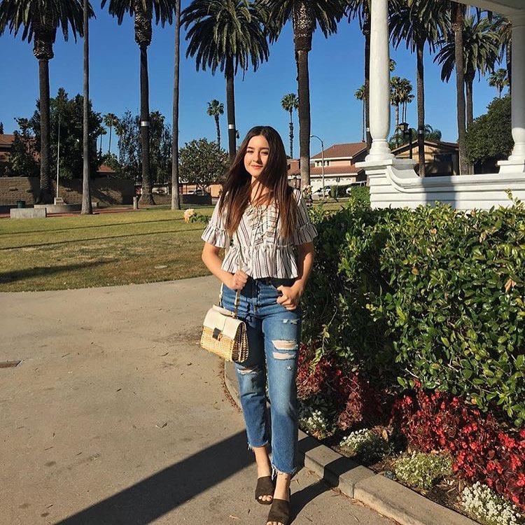 How To Wear Ruffled Peplum Crop Top This Summer 2019