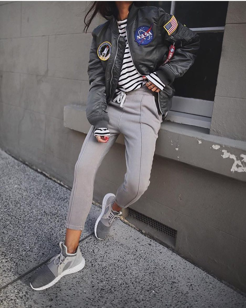 Sporty Outfit For Day Walks In The Town 2019