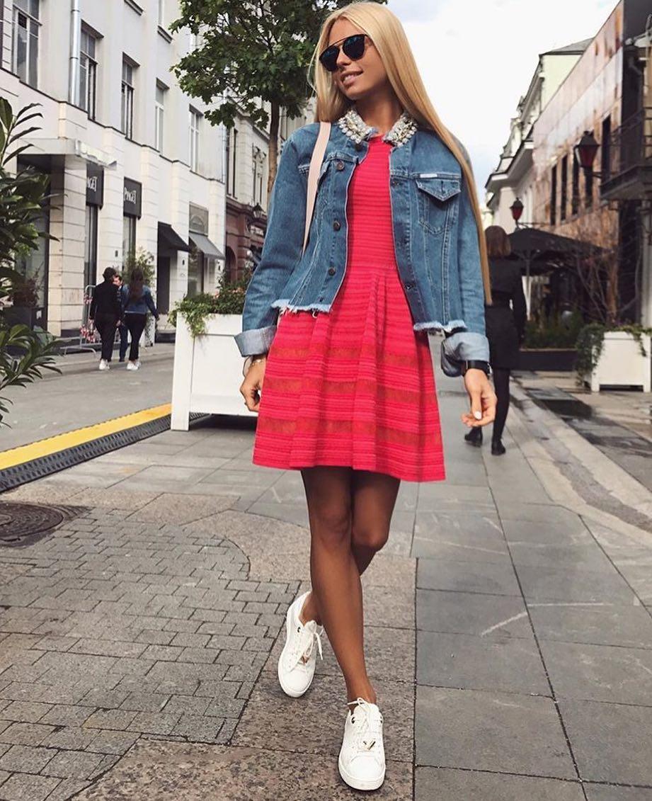 How To Make Denim Jacket Look Ladylike 2020