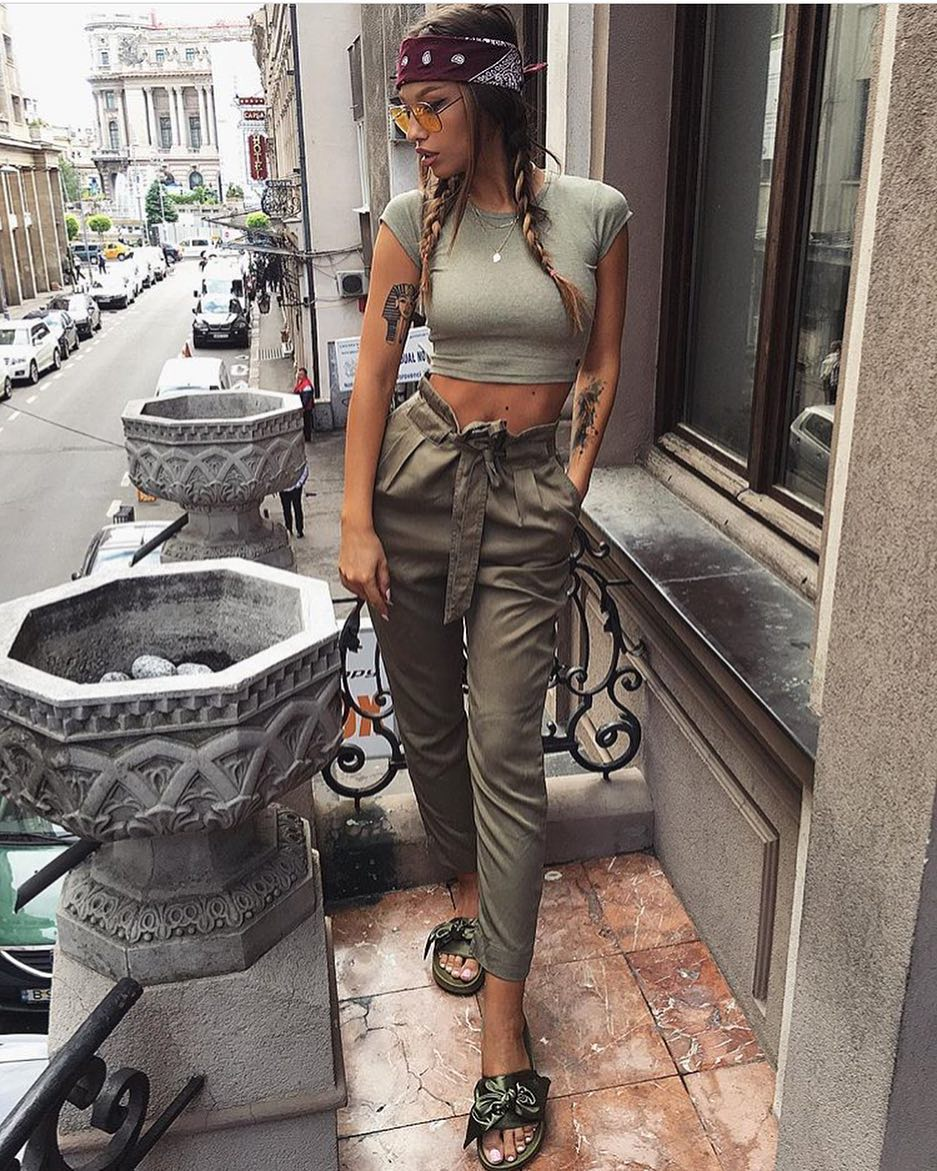 Army Style Outfit Idea For Casual Days 2019