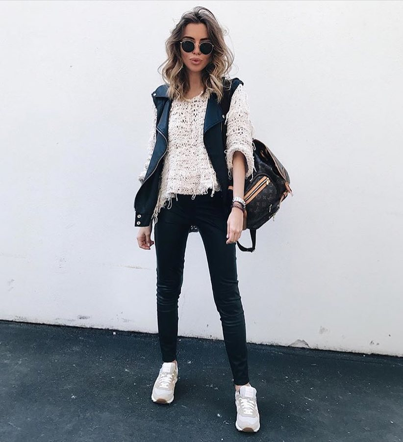How To Wear Double Leather Outfit 2020