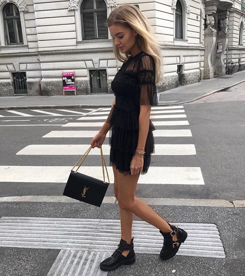 How To Wear Sheer Little Black Dress 2020