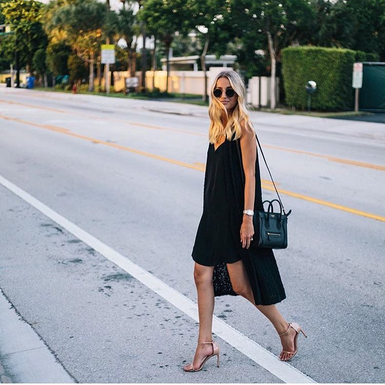How To Wear Little Black Dress On The Streets 2021
