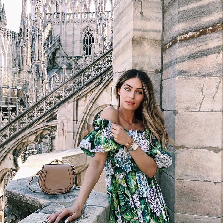 How To Wear Off Shoulder Dress In Floral Print 2019