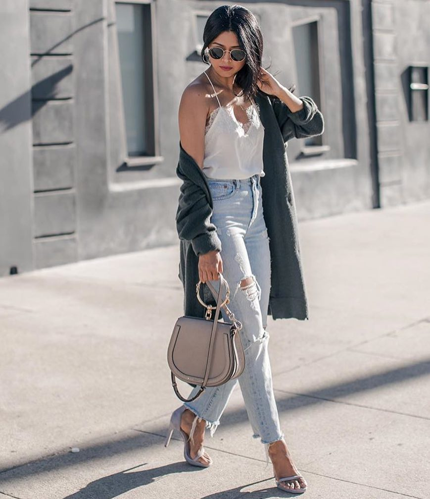 How To Wear Long Cardigan With Jeans 2021