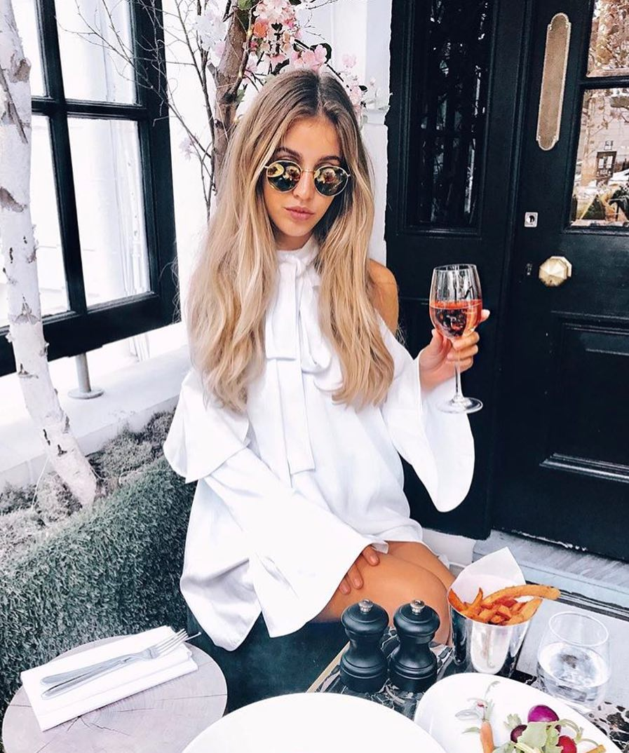 How To Make Cold Shoulder Blouse Dress In White Look Awesome 2021