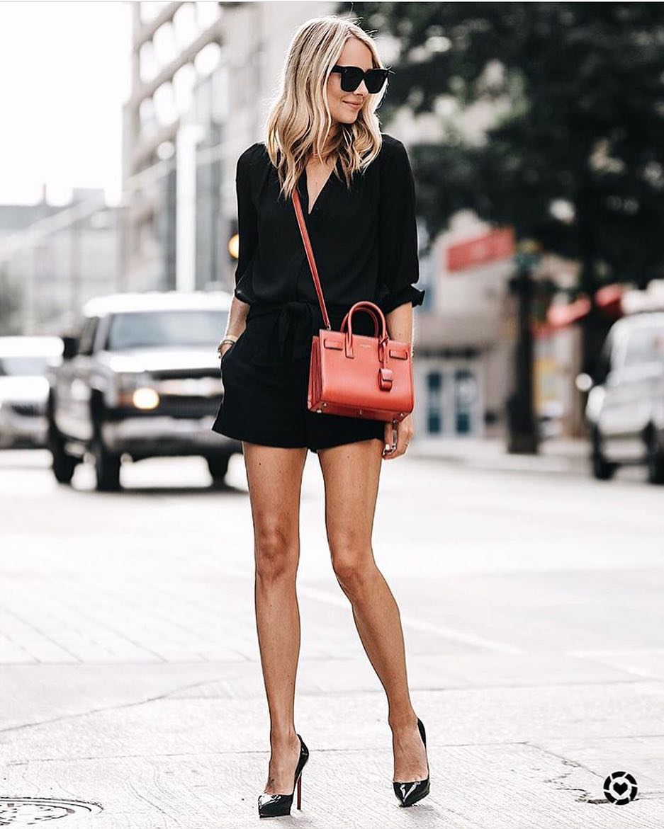 How To Create An Awesome All Black Look For Summer Street Walks 2019