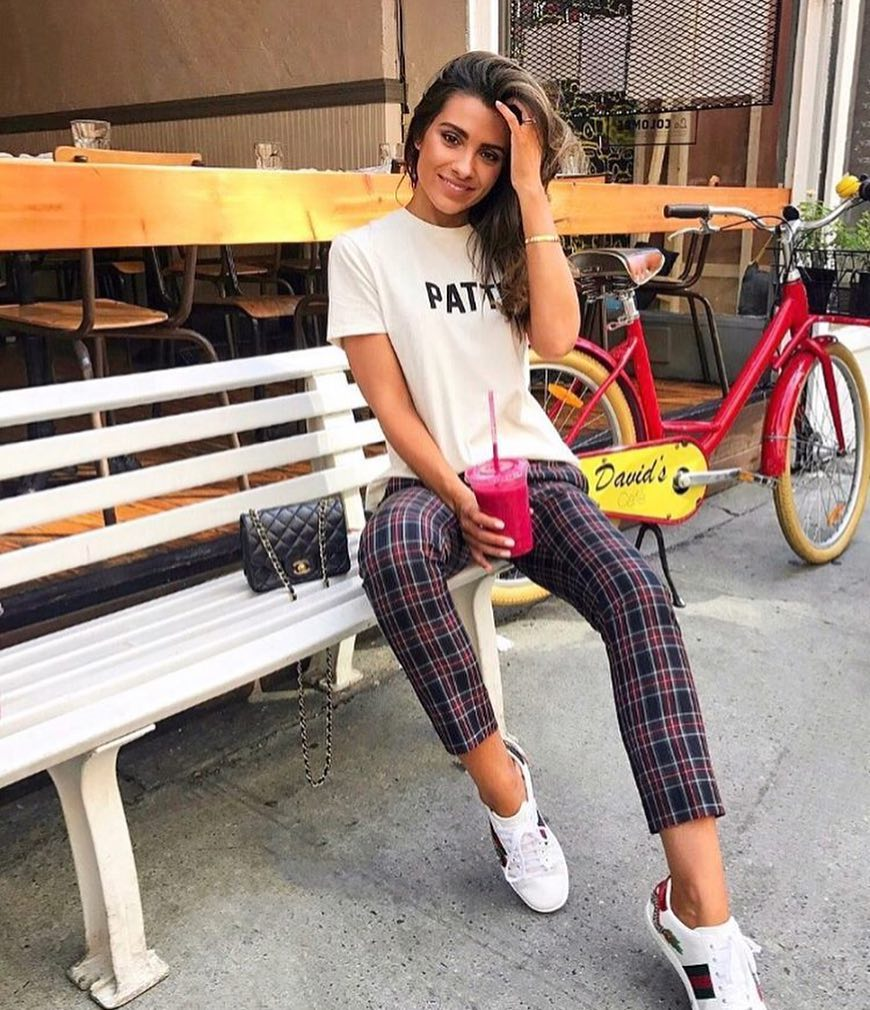 How To Wear Plaid Pants This Summer 2020