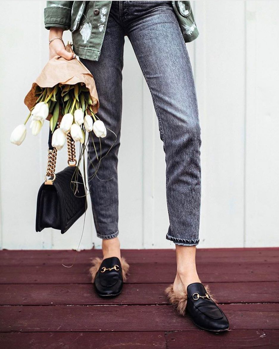 How To Wear Fur Mules This Spring 2019