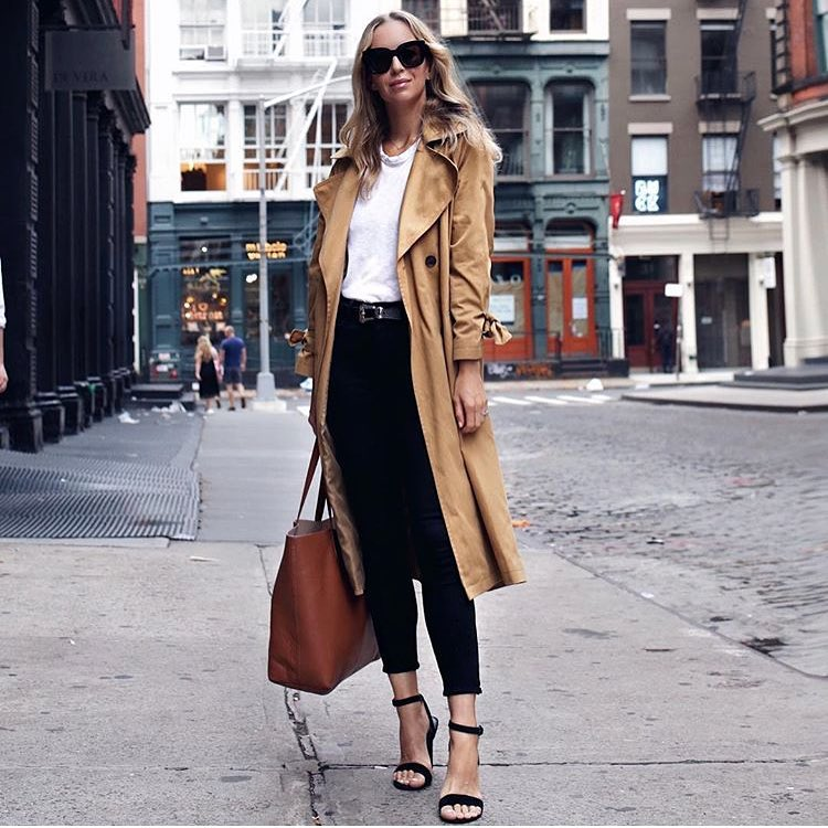 How To Wear Beige Trench Coat This Spring In New York 2019