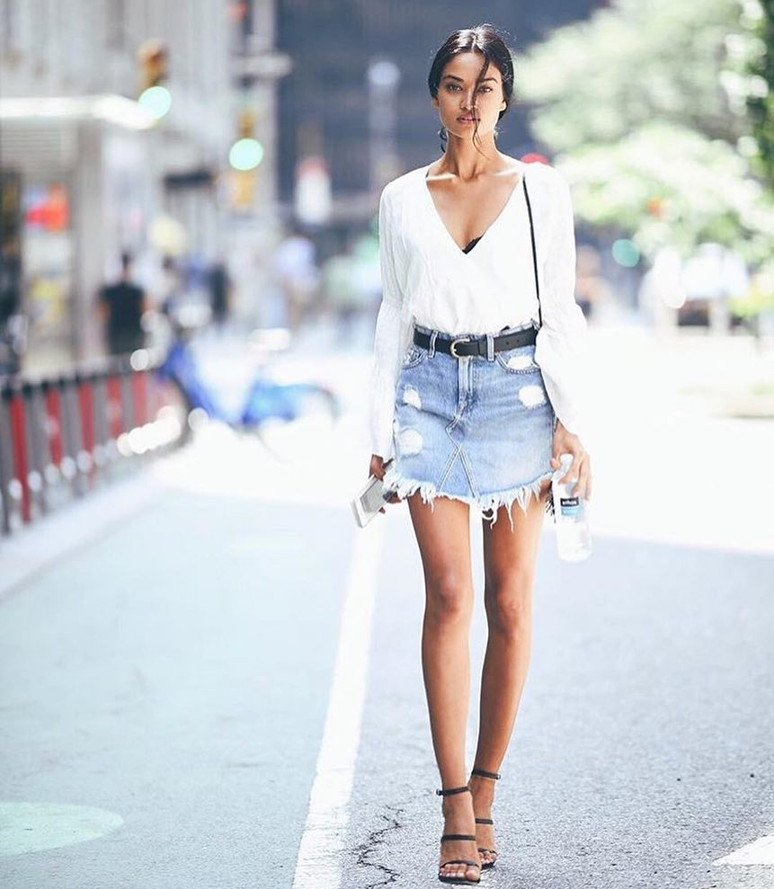 4d938798d0f Outfits With White Jean Skirts – DACC