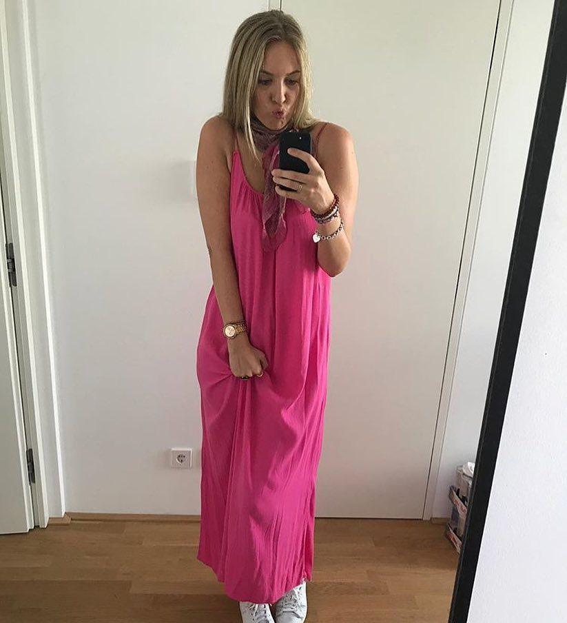 Summer Essentials Hot Pink Maxi Dress 2021