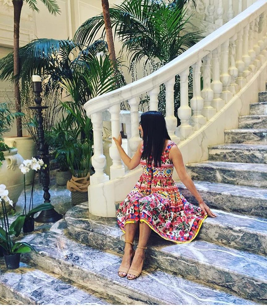 Floral Mosaic Multicolored Dress For Summer Vacation 2021