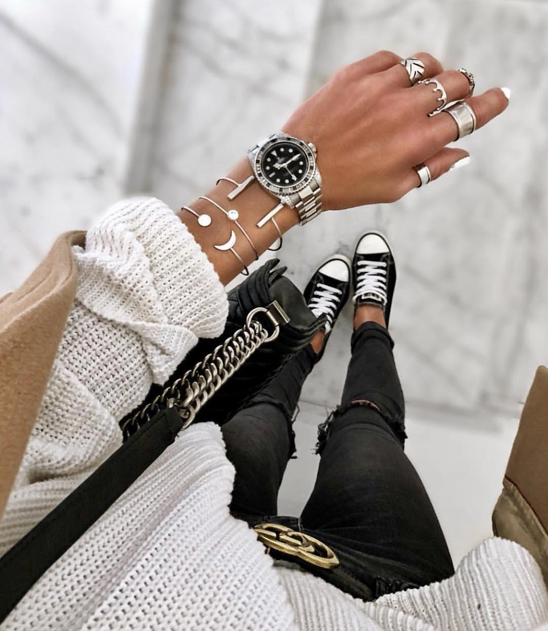 Grunge Must Haves: Jewelry And Trainers 2020