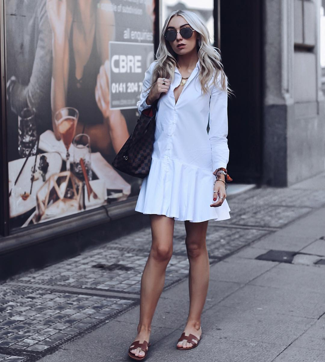 Can I Wear White Shirtdress This Summer 2019