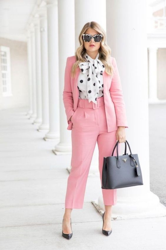 Polka Dot Outfits For Women 2020